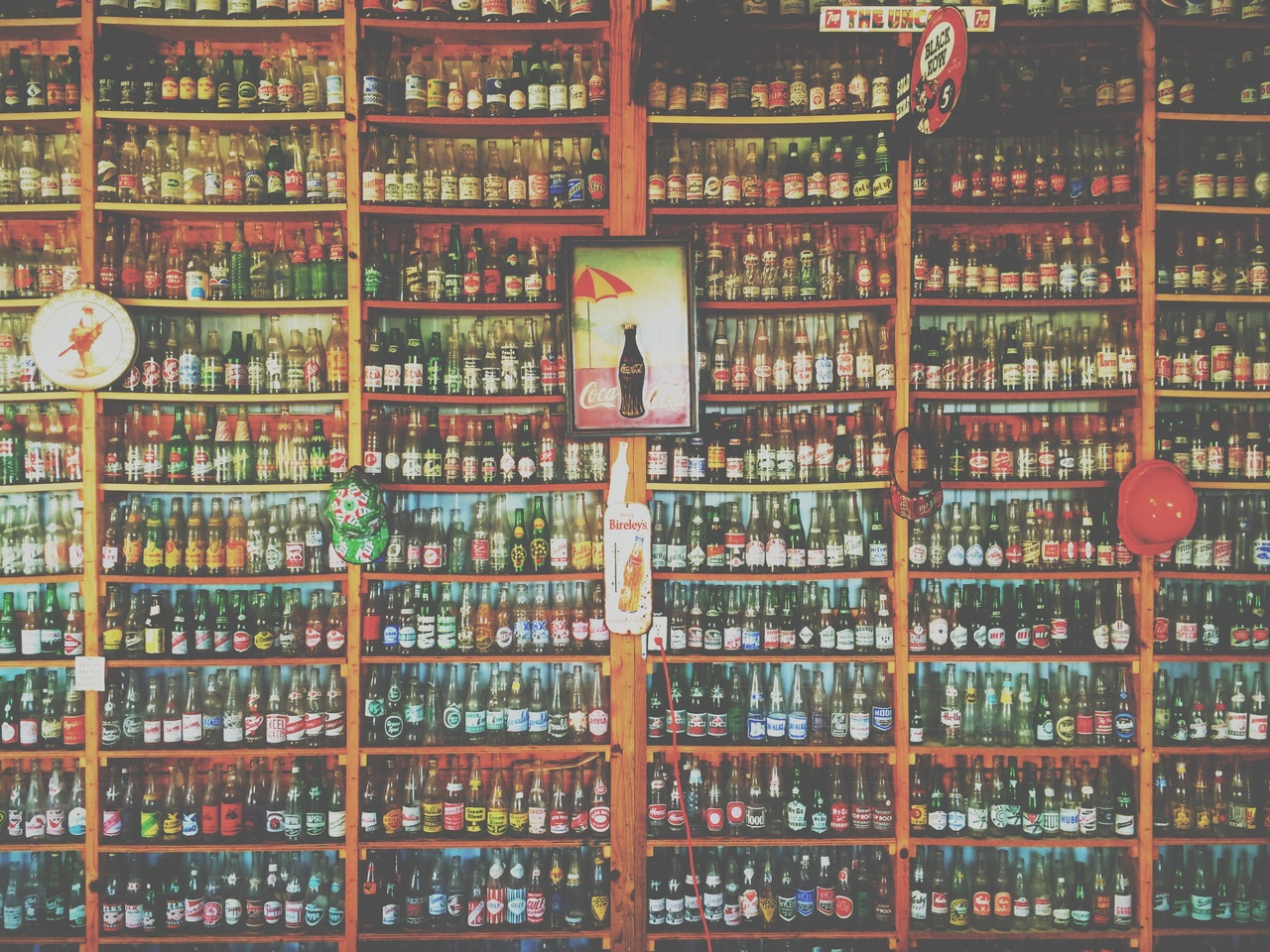 Collection de canettes
