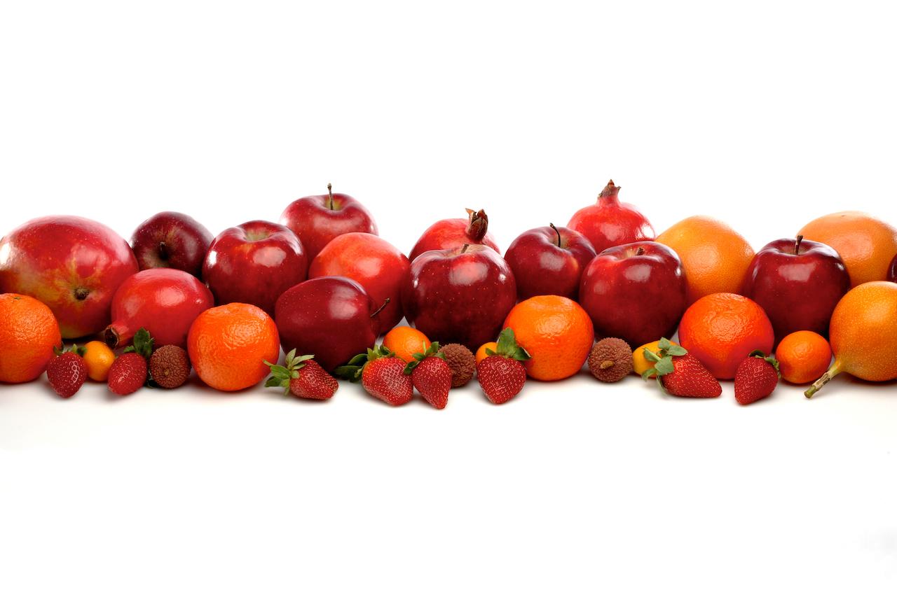 Les fruits sont excellents contre le stress