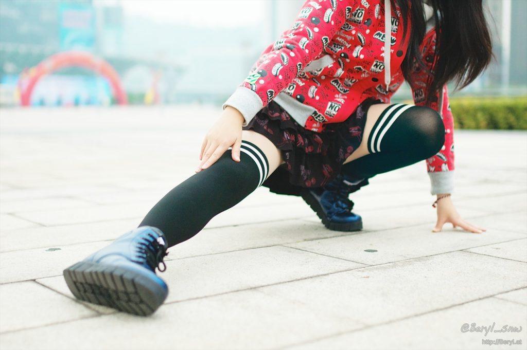 Mouvement des pieds