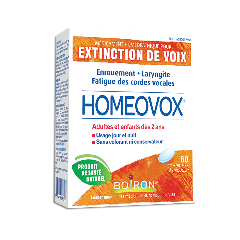 Homéopathie Homeovox