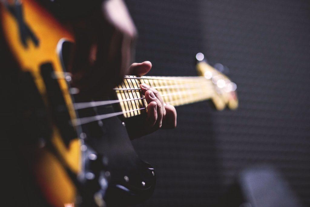 Plaisir de jouer de la guitare