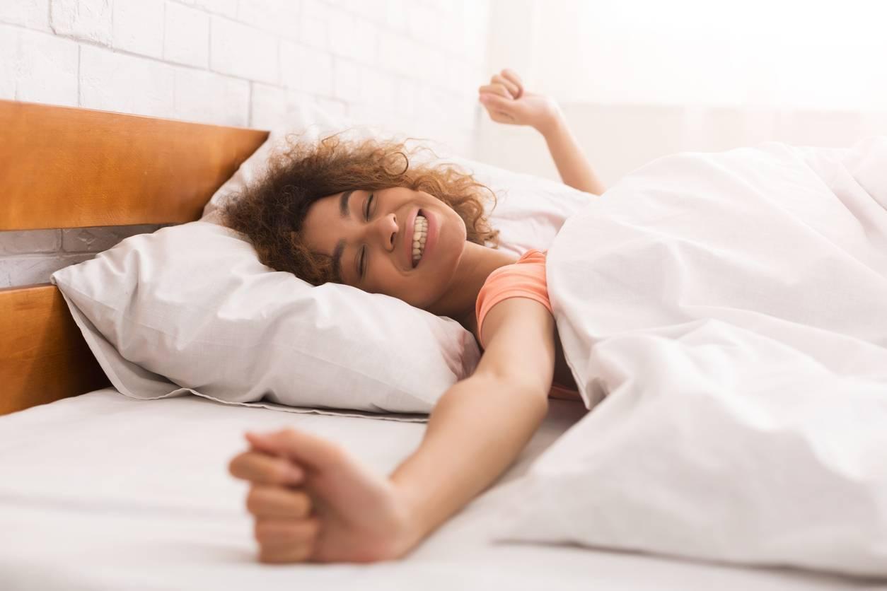 sommeil confortable grâce à une bonne literie