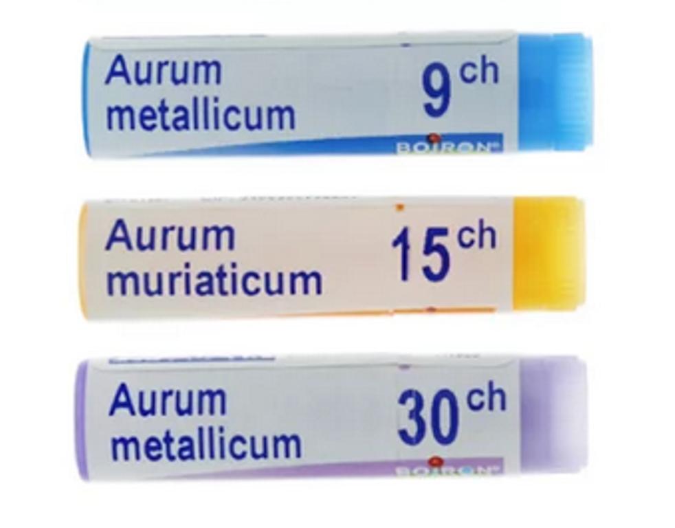 Posologie Aurum metallicum