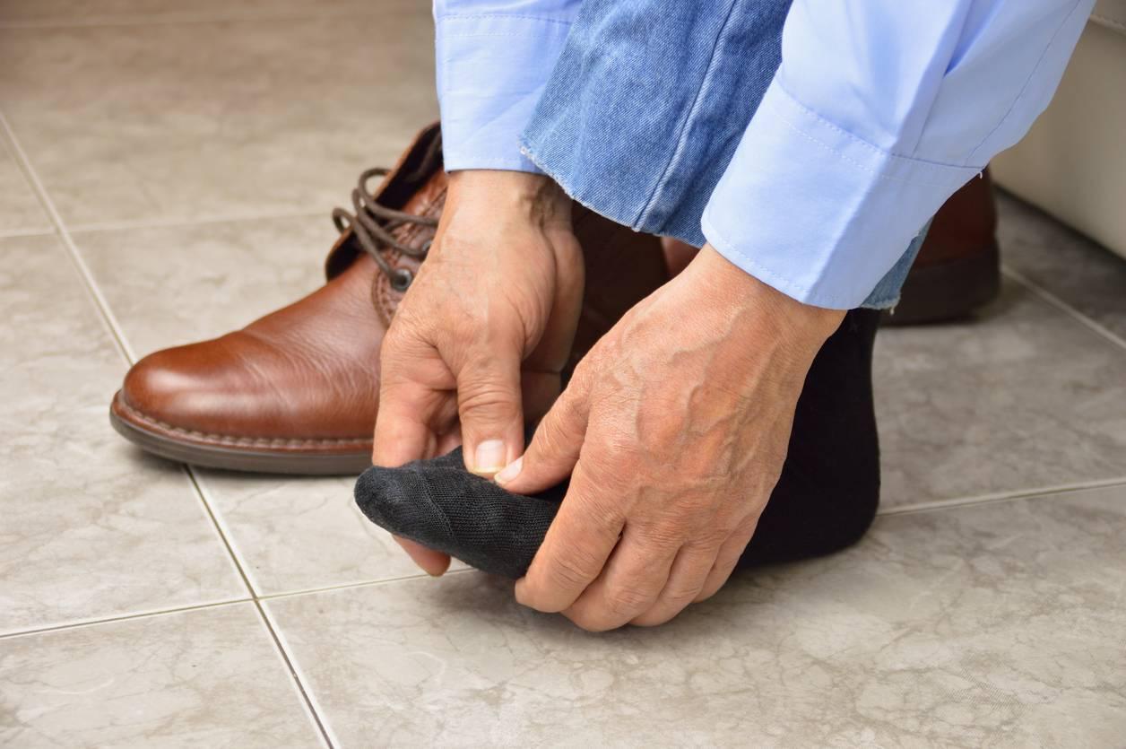 douleurs au pied