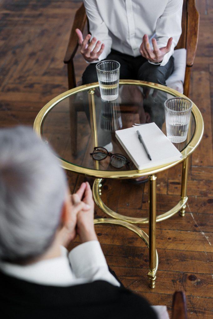 Consultation avec un psychologue