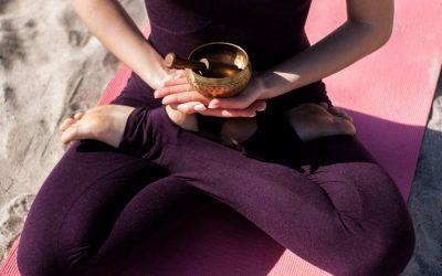 Méditer avec le bol tibétain
