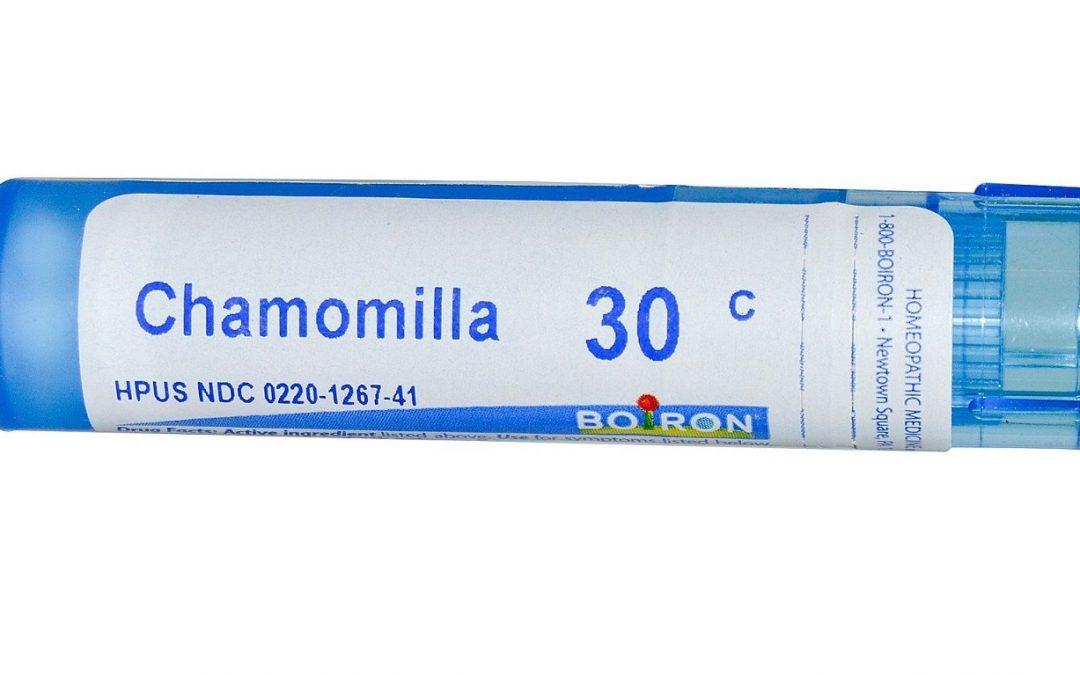 Chamomilla, remède homéopathique