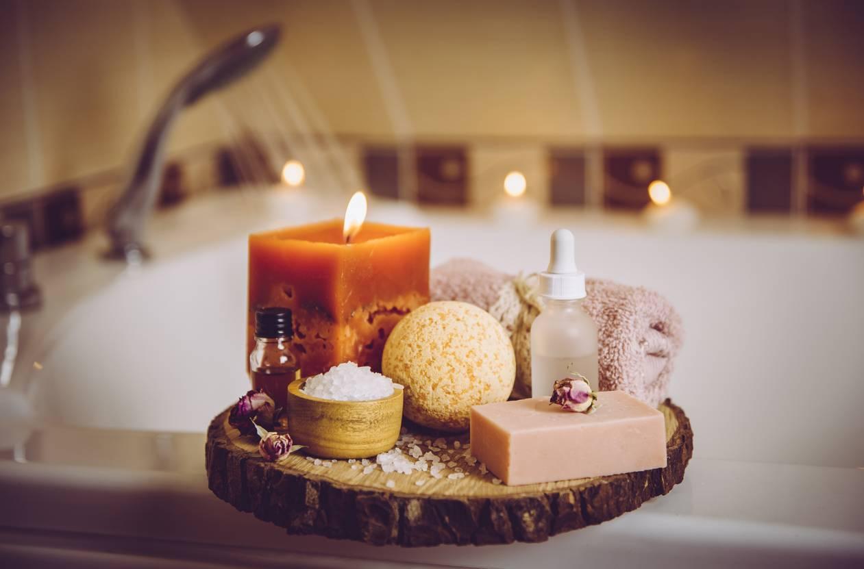 bain produits de bain